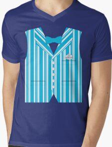 Dapper Dans Vest - Blue Mens V-Neck T-Shirt