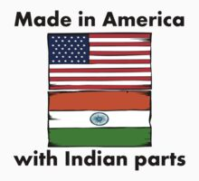 Made In America With Indian Parts One Piece - Short Sleeve