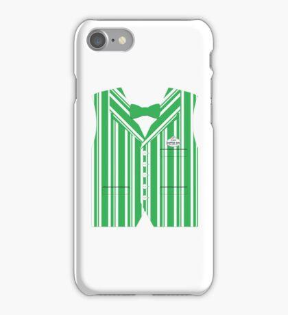 Dapper Dans Vest - Green iPhone Case/Skin