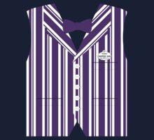 Dapper Dans Vest - Purple Kids Tee