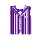 Dapper Dans Vest - Purple by jdotcole