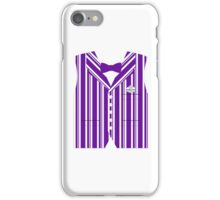 Dapper Dans Vest - Purple iPhone Case/Skin
