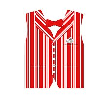 Dapper Dans Vest - Red by jdotcole