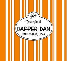 Dapper Dans Nametag - Halloween by jdotcole