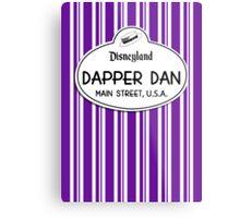 Dapper Dans Nametag - Purple Metal Print