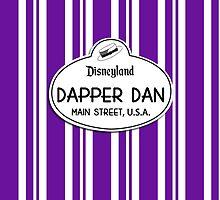 Dapper Dans Nametag - Purple by jdotcole
