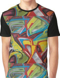 Hood Graffiti Graphic T-Shirt