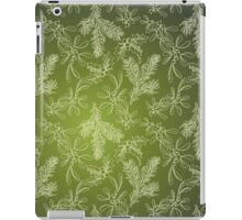 Mistletoe, Fir and Holly iPad Case/Skin