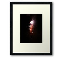 Fire Ball Framed Print