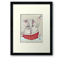Tip o' the Hat Framed Print