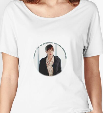 Dakota Johnson - Interview Women's Relaxed Fit T-Shirt