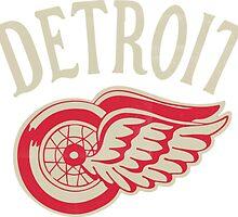 Red Wings sport detroit by Kazamplu