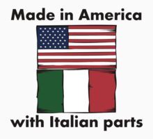 Made In America With Italian Parts One Piece - Short Sleeve