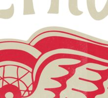 Red Wings sport detroit Sticker