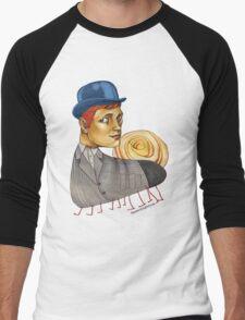 Snailapillar Men's Baseball ¾ T-Shirt