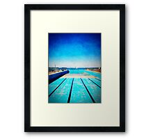 iPhoneography: To the Sea... Framed Print