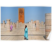 Hassan Tower, Rabat, Morocco  Poster