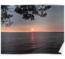 Magical-Coloured Sunrise Poster