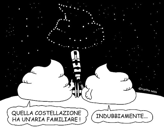 VITA E AVVENTURE DI PICCOLE MERDE - Costellazione di merda ! by CLAUDIO COSTA