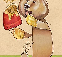Honey Bear by busymockingbird