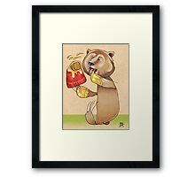 Honey Bear Framed Print