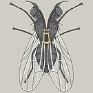 Unzipped Fly by JBDesigns