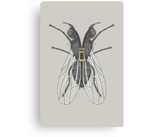 Unzipped Fly Canvas Print