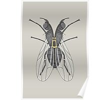 Unzipped Fly Poster