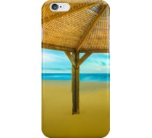 Shed On The Beach iPhone Case/Skin