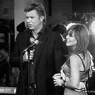 Richard Wilkins and Vanessa Amorosi by Andrew  Makowiecki