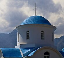 GREEK ROADSIDE CHAPEL..! by vaggypar
