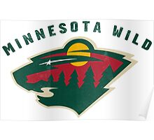 Minnesota Wild Hockey sport Poster