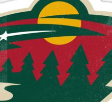 Minnesota Wild Hockey sport Sticker