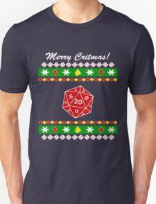 Merry Critmas! Ugly Christmas Sweater Unisex T-Shirt