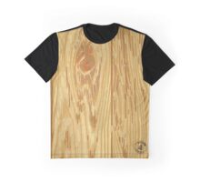 Woodgrain Graphic T-Shirt
