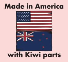 Made In America With Kiwi Parts Kids Clothes
