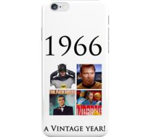 1966 -  a vintage year US iPhone Case/Skin