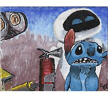 Stitch and Friends Photographic Print