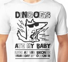 Dingoes Ate My Baby | Buffy The Vampire Slayer Band T-shirt Unisex T-Shirt