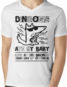 Dingoes Ate My Baby | Buffy The Vampire Slayer Band T-shirt Mens V-Neck T-Shirt