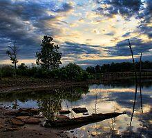 Our Cove At Dawn by Carolyn  Fletcher