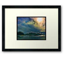 Norwegian Sky Framed Print