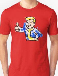 Watercolour Fallout T-Shirt
