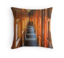 Vintage Rail Throw Pillow