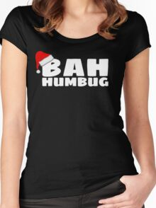 Bah Humbug Women's Fitted Scoop T-Shirt