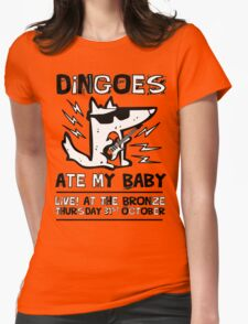 Dingoes Ate My Baby | Buffy The Vampire Slayer Band T-shirt Womens Fitted T-Shirt
