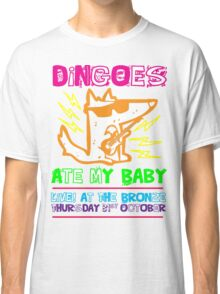 Dingoes Ate My Baby | Buffy The Vampire Slayer Band T-shirt [Neon] Classic T-Shirt