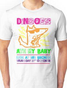 Dingoes Ate My Baby | Buffy The Vampire Slayer Band T-shirt [Neon] T-Shirt
