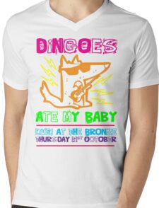 Dingoes Ate My Baby | Buffy The Vampire Slayer Band T-shirt [Neon] Mens V-Neck T-Shirt