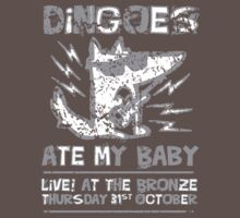 Dingoes Ate My Baby | Buffy The Vampire Slayer Band T-shirt [Distressed] by Jessica E Pattison